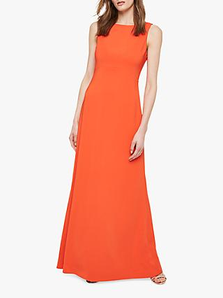 Damsel in a Dress Elise Tie Back Dress, Orange