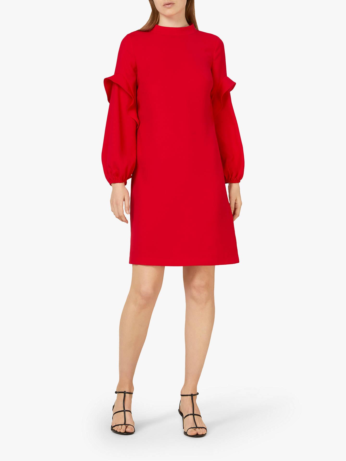 df120b14fa3 Finery Jaelynn Ruffle Detail Long Sleeve Dress at John Lewis   Partners