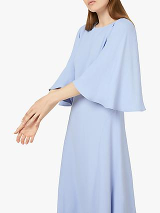 Finery Nadia Angel Sleeve Midi Dress, Lilac