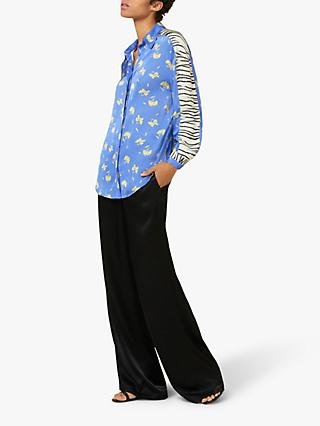 Finery Edie Shirt, Floral/Zebra