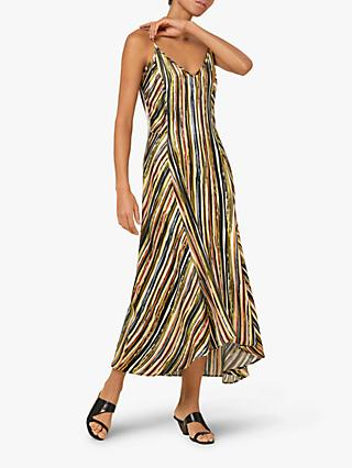 Finery Rae Stripe Dress, Multi