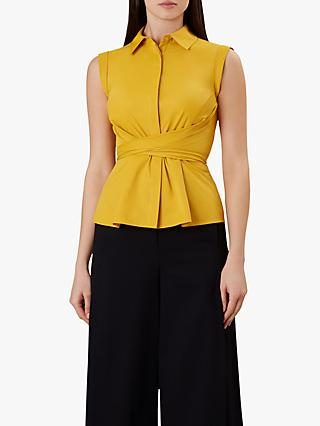 06da81ae7 Hobbs Maria Wrap Tie Sleeveless Top