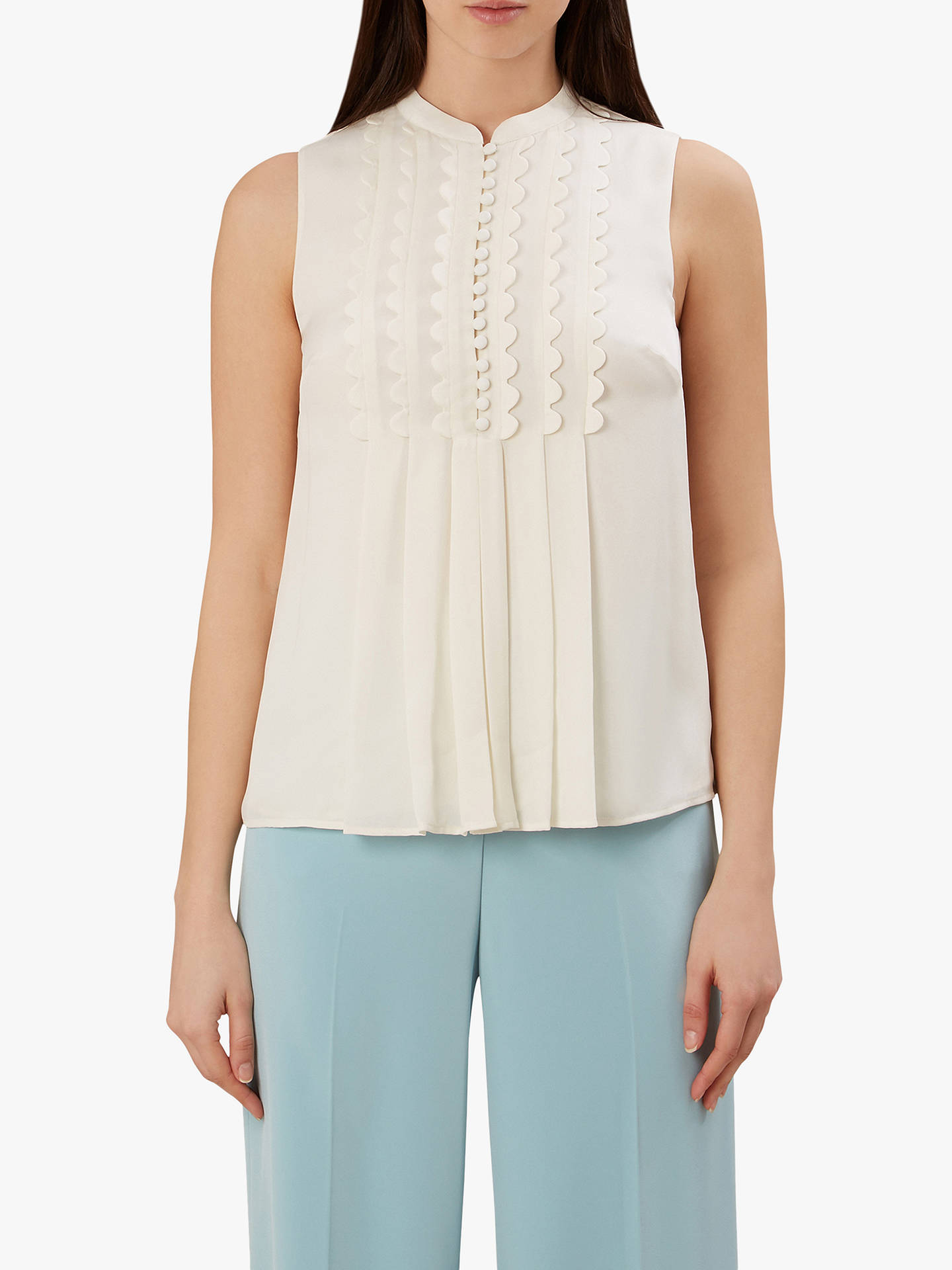 40795c107941b Buy Hobbs Aoife Silk Sleeveless Top