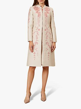 Hobbs Melody Coat, Oyster Posie