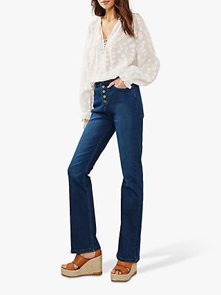 b395bc9b8b5ec7 Mint Velvet Bellflower Bootcut Jeans