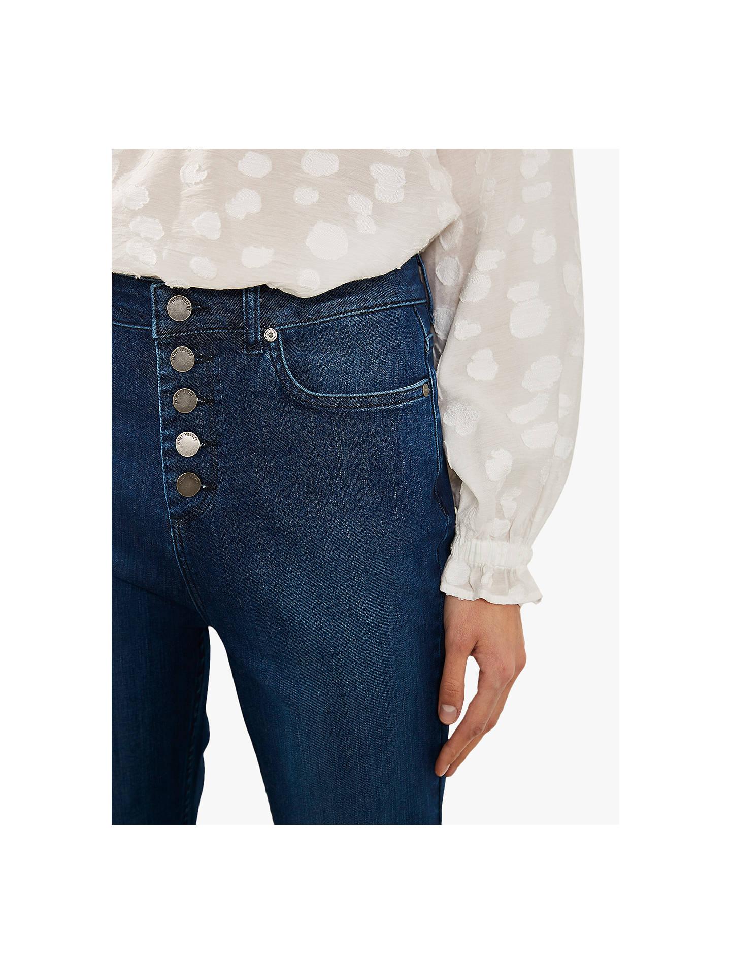 e2775048748 ... Buy Mint Velvet Bellflower Bootcut Jeans, Blue, 6L Online at  johnlewis.com ...