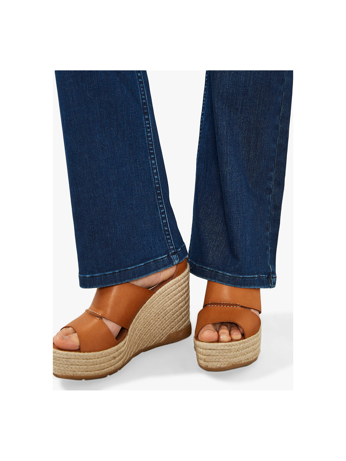 823af853a96 ... Buy Mint Velvet Bellflower Bootcut Jeans, Blue, 6L Online at  johnlewis.com