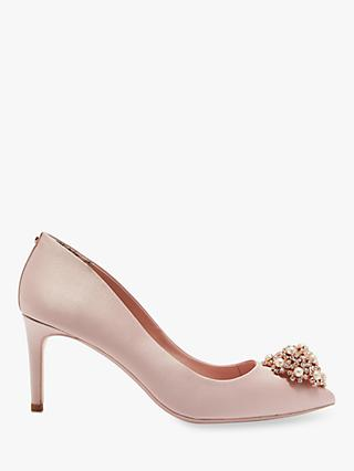8bbb7627e44 Ted Baker Dahrlin Brooch Detail Court Shoes
