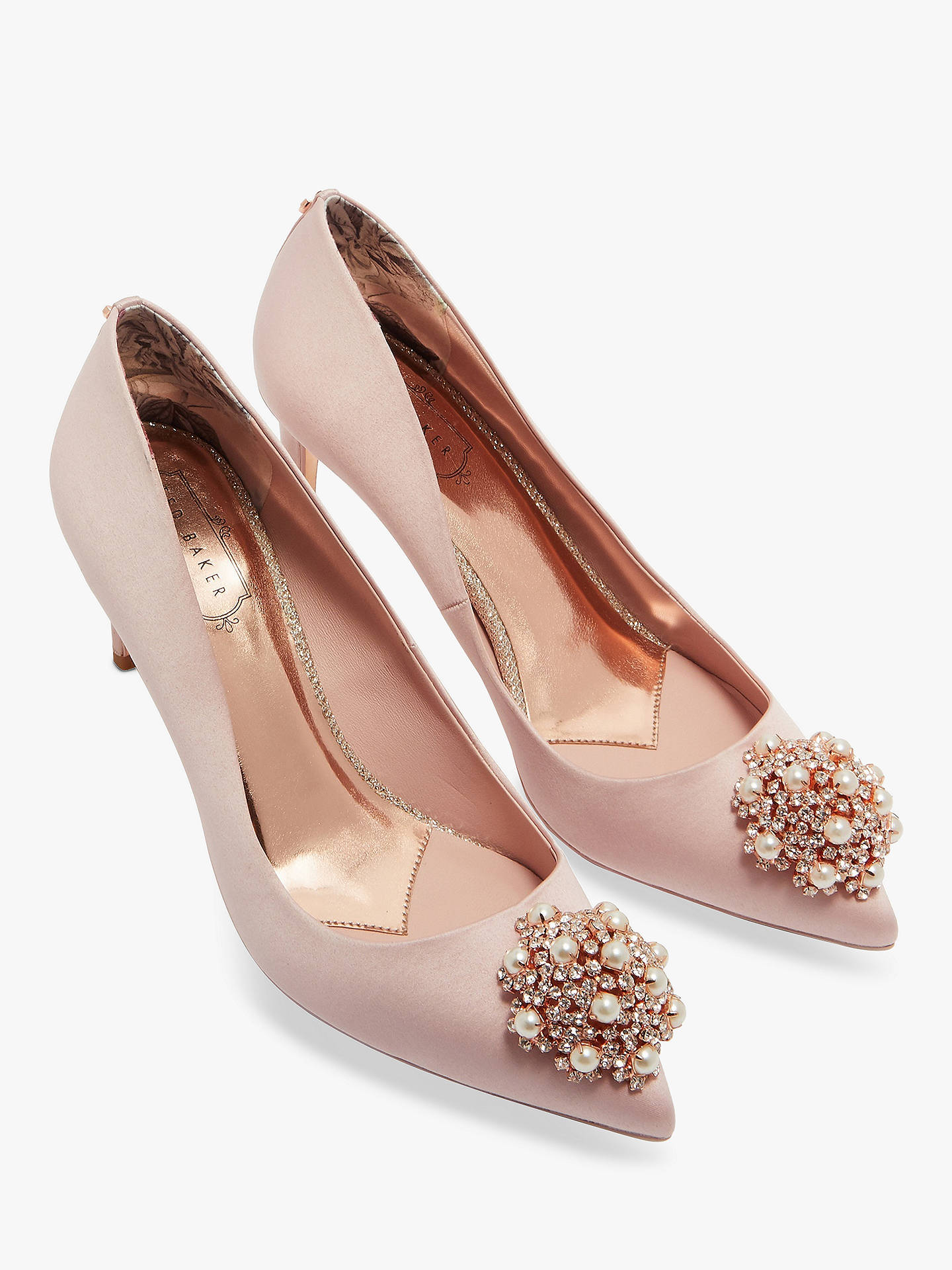 0e6931f2f ... Buy Ted Baker Dahrlin Brooch Detail Court Shoes
