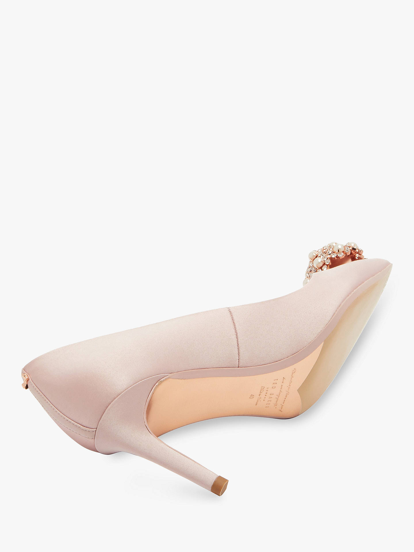 15d3f95e55e ... Buy Ted Baker Dahrlin Brooch Detail Court Shoes