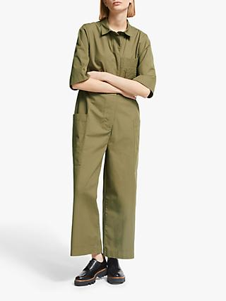 Kin Relaxed Utility Jumpsuit, Green