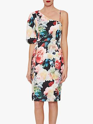 Gina Bacconi Lelia Scuba Dress, Multi