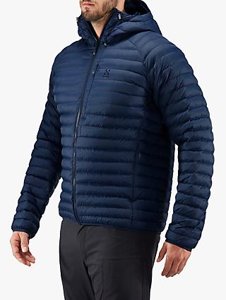 Haglöfs Essens Mimic Men's Insulated Quilted Jacket, Tarn Blue