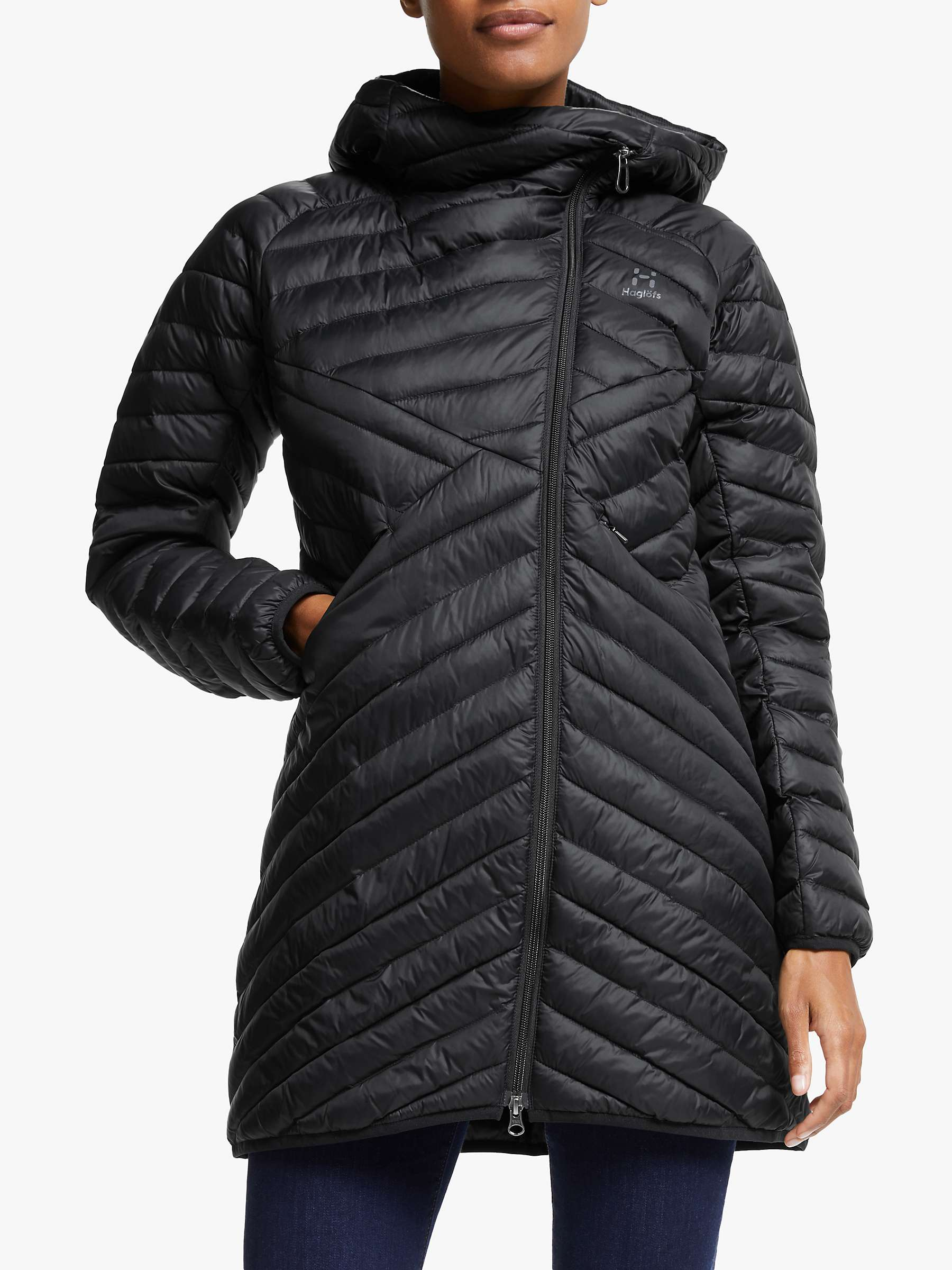 Dala Mimic Parka Women | Women | True Black | Damen Jacken