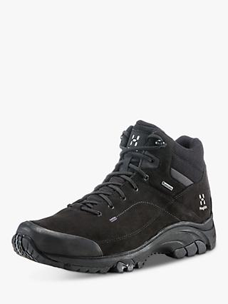 Haglöfs Ridge Mid Men's Waterproof Gore-Tex Walking Boots, True Black