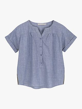 Mintie by Mint Velvet Girls' Chambray Shirt, Blue