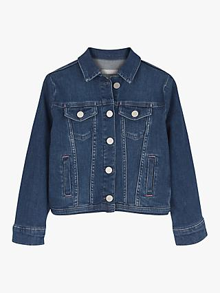 Mintie by Mint Velvet Girls' Authentic Denim Jacket, Blue