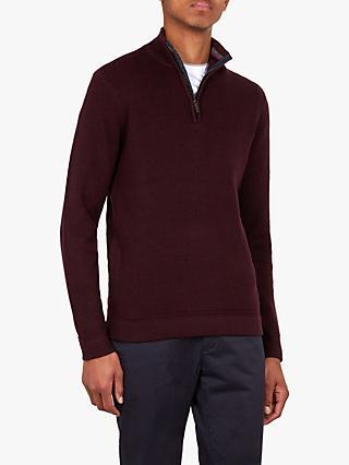 73a654e5a75a1 Ted Baker T for Tall Lohastt Half Zip Funnel Neck Sweatshirt