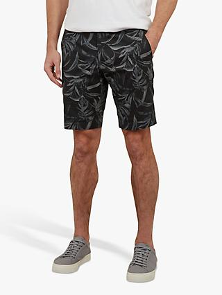 Ted Baker Ausral Printed Shorts, Navy Blue
