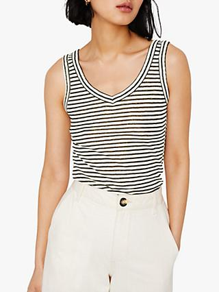 Warehouse Stripe Cotton Vest