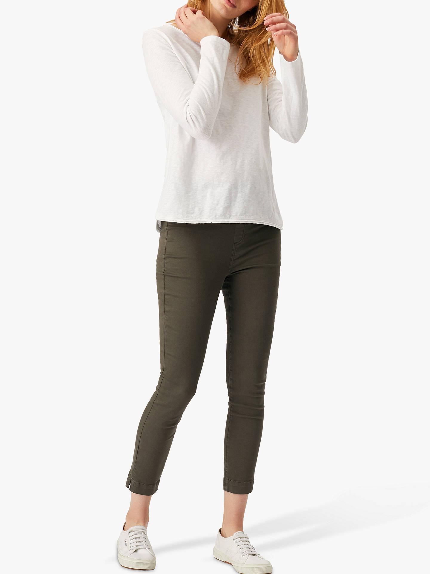 a1a126e8e5efc8 ... Buy White Stuff Jade Cropped Jegging Jeans, Khaki, 6R Online at  johnlewis.com ...