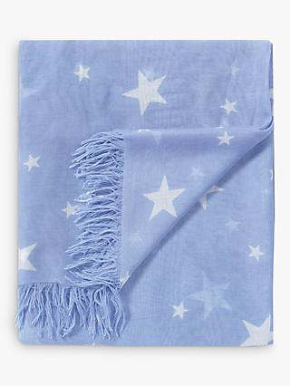 9a46022f6c7 Pure Collection Soft Star Printed Scarf