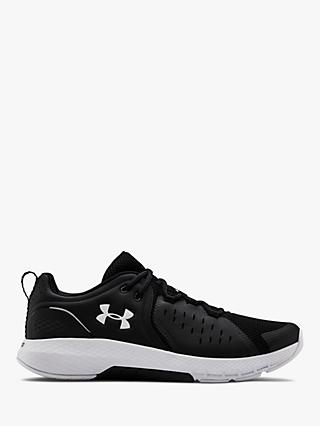 Under Armour Charged Commit 2 Men's Cross Trainers, Black/White