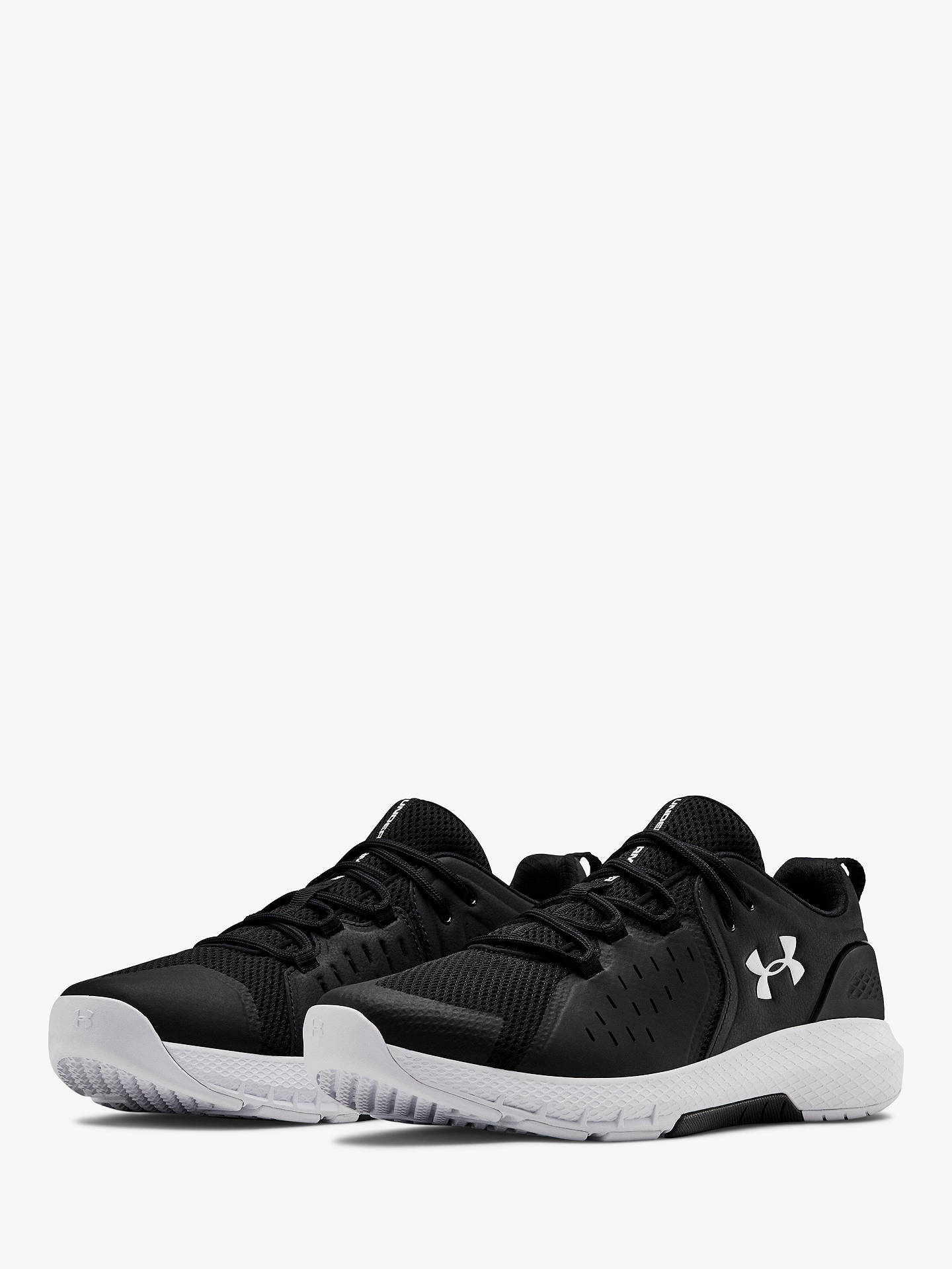 sale retailer c839c 1fa55 Under Armour Charged Commit 2 Men's Cross Trainers, Black/White