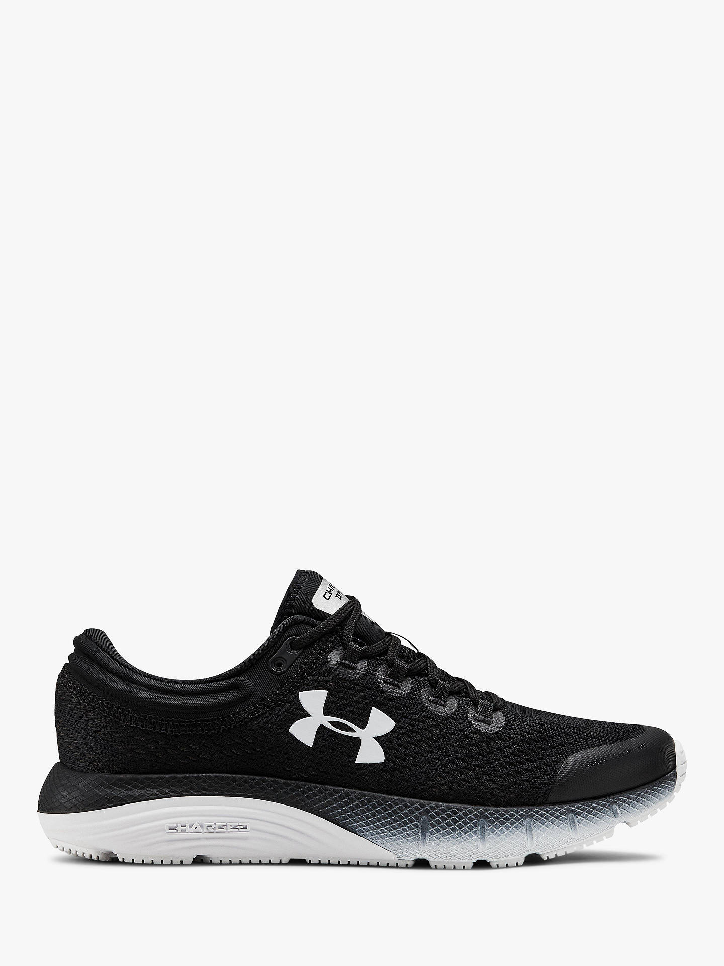 official photos 87191 12e8d Under Armour Charged Bandit 5 Women's Running Shoes, Black/White
