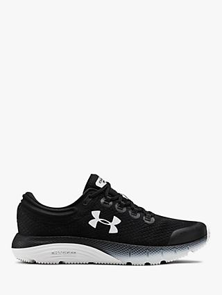 Under Armour Charged Bandit 5 Women's Running Shoes, Black/White