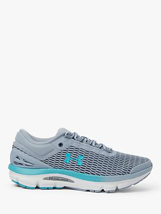 Under Armour Charged Intake 3 Women's Running Shoes, Downpour Grey/Blue