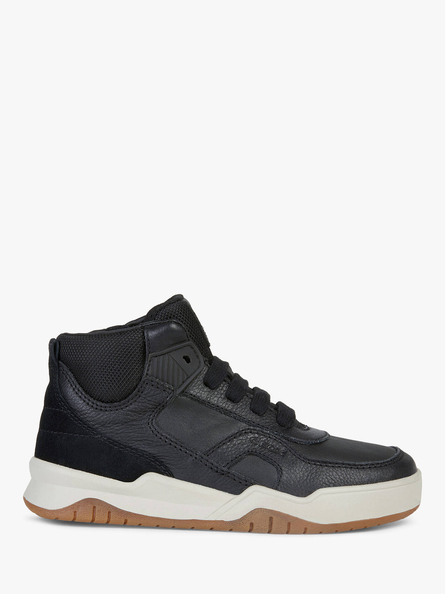 best authentic c819e e9634 Geox Children's Perth Shoes, Black at John Lewis & Partners