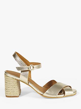 d04e45d1068 Jigsaw Mara Espadrille Block Heel Sandals