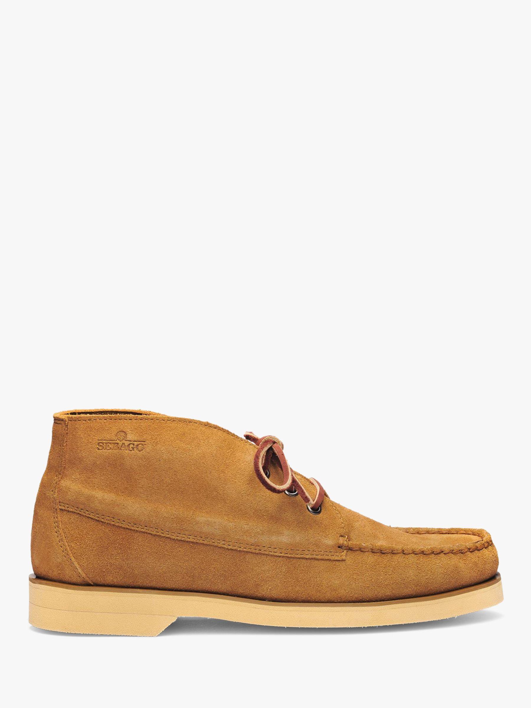Sebago Sebago Campsides Tatanka Suede Boots, Cuoio Red