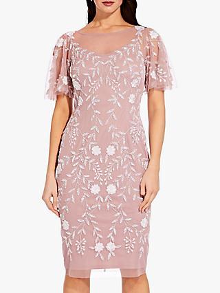 4ada3663554 Adrianna Papell Plus Beaded Short Dress