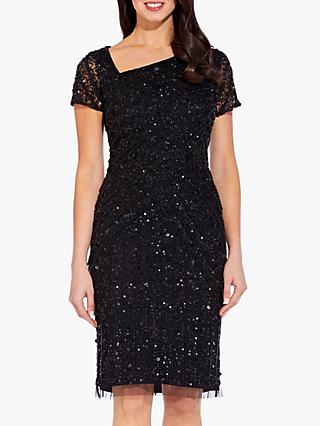 Adrianna Papell Beaded Short Dress
