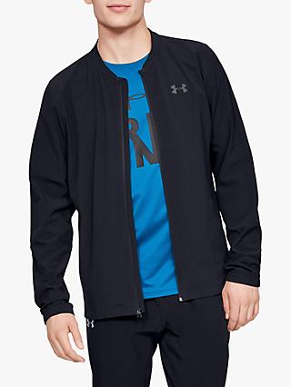 Under Armour Storm Launch 2.0 Men's Running Jacket, Black