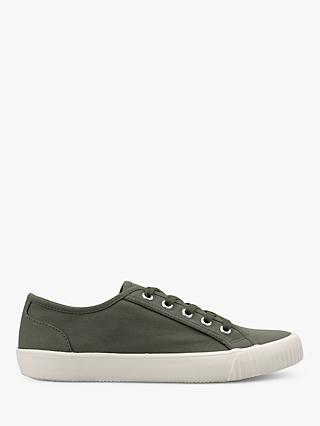 hush Henley Canvas Low Top Trainers