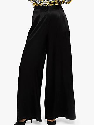 076c40cb74e Ghost Jilly Satin Wide Leg Trousers
