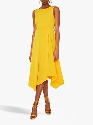 e0c855e4462 Warehouse Tie Back Midi Dress