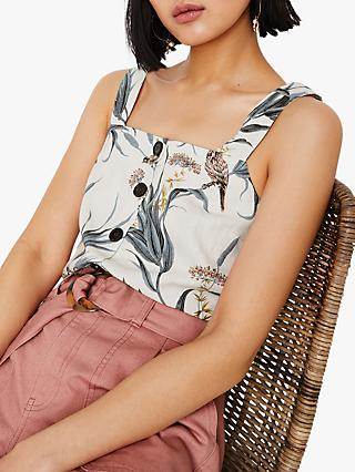 1132fcecb6 Warehouse Bird Print Cami Top