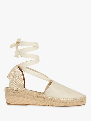 Whistles River Espadrille Tie Wedge Sandals