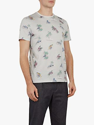 652eacdd6865 Ted Baker Colarda Tropical Printed T-Shirt