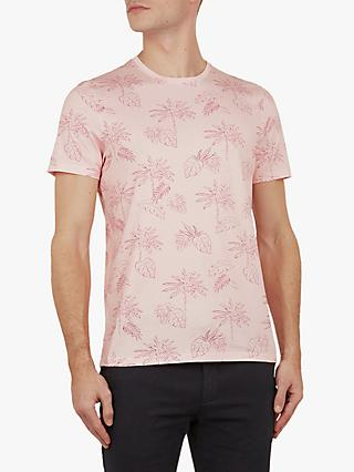 0859746f3 Ted Baker Straw Tropical Printed T-Shirt