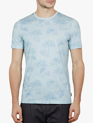 790686766 Ted Baker Straw Tropical Printed T-Shirt