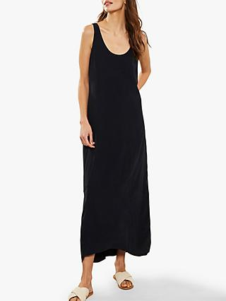 Mint Velvet Cocoon Maxi Dress, Navy