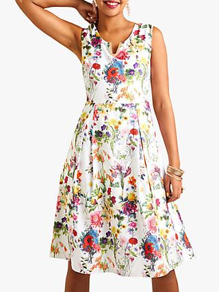 Yumi Botanical Prom Dress, Multi