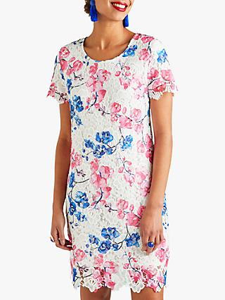Yumi Blossom Lace Tunic Dress, Pink