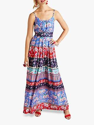 Yumi Patchwork Maxi Dress, Multi