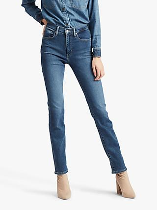 Levi's 724 High Rise Straight Jeans, Paris Stroll